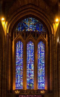 Stained glass in Liverpool Cathedral - Wikipedia