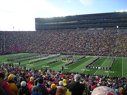Ohio State vs. Michigan football 2013 01 (Ohio State band)