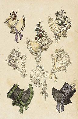 Fashion Plate (Parisian Head Dresses) LACMA M.86.266.248