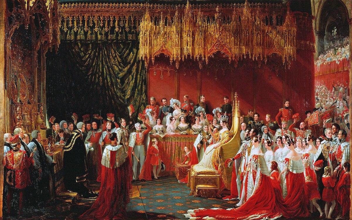 Coronation Of Queen Victoria Wikipedia