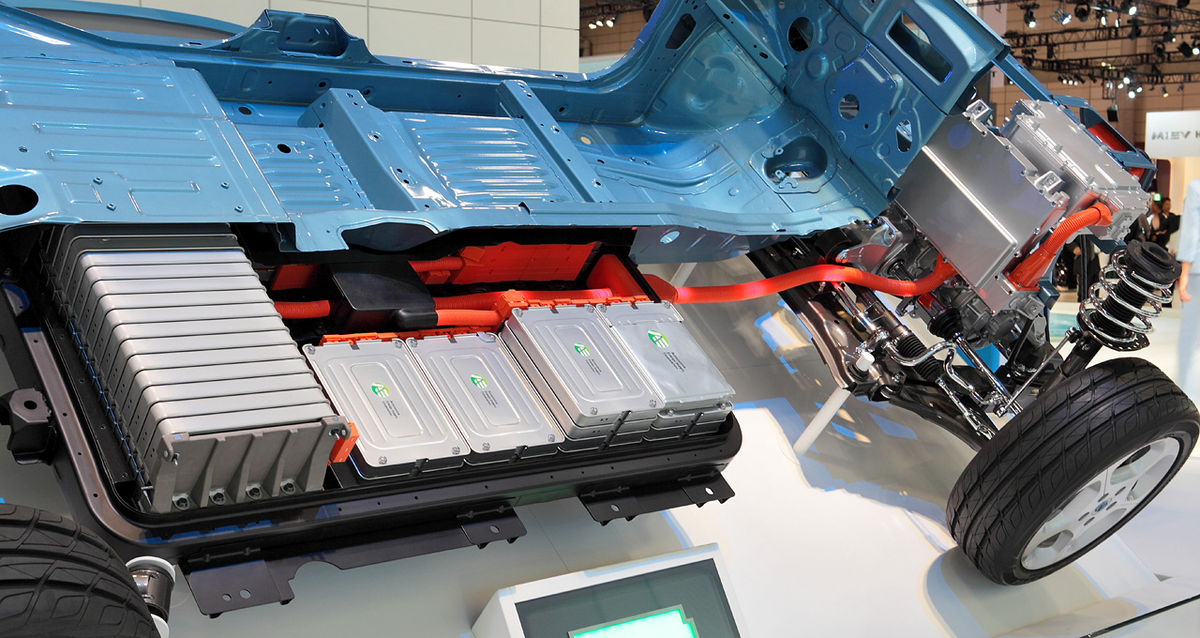 Electric vehicle battery - Wikipedia