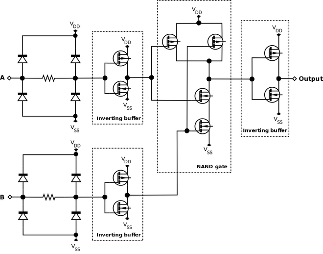 the diagrams below show the two circuits
