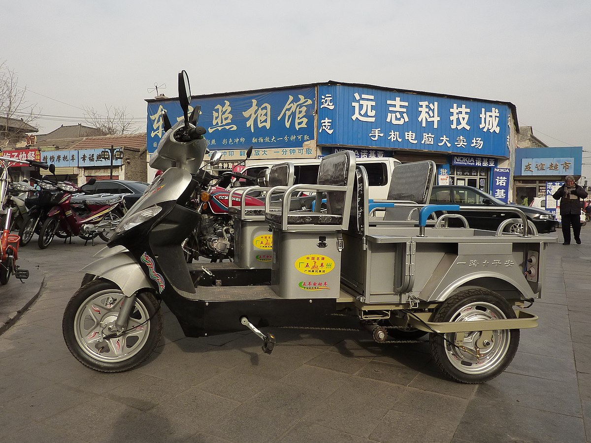 E On Electric Electric Rickshaw Wikipedia