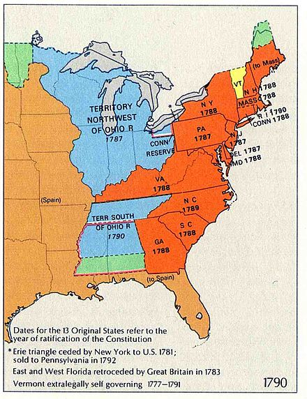 Timeline of United States history (1790\u20131819) - Wikiwand