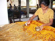 Batik Dyeing Techniques