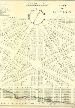 419px Old map 1807 plan A Brief History of Urbanism in North America: 1700s