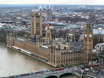 The palace of Westminster (source: wikipedia)