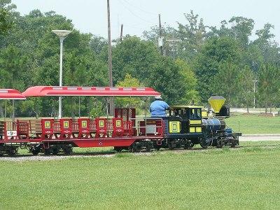 City Park train New Orleans