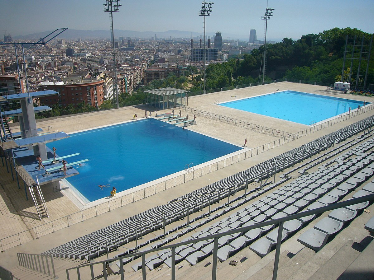Piscina Waterpolo Piscina Municipal De Montjuïc Wikipedia