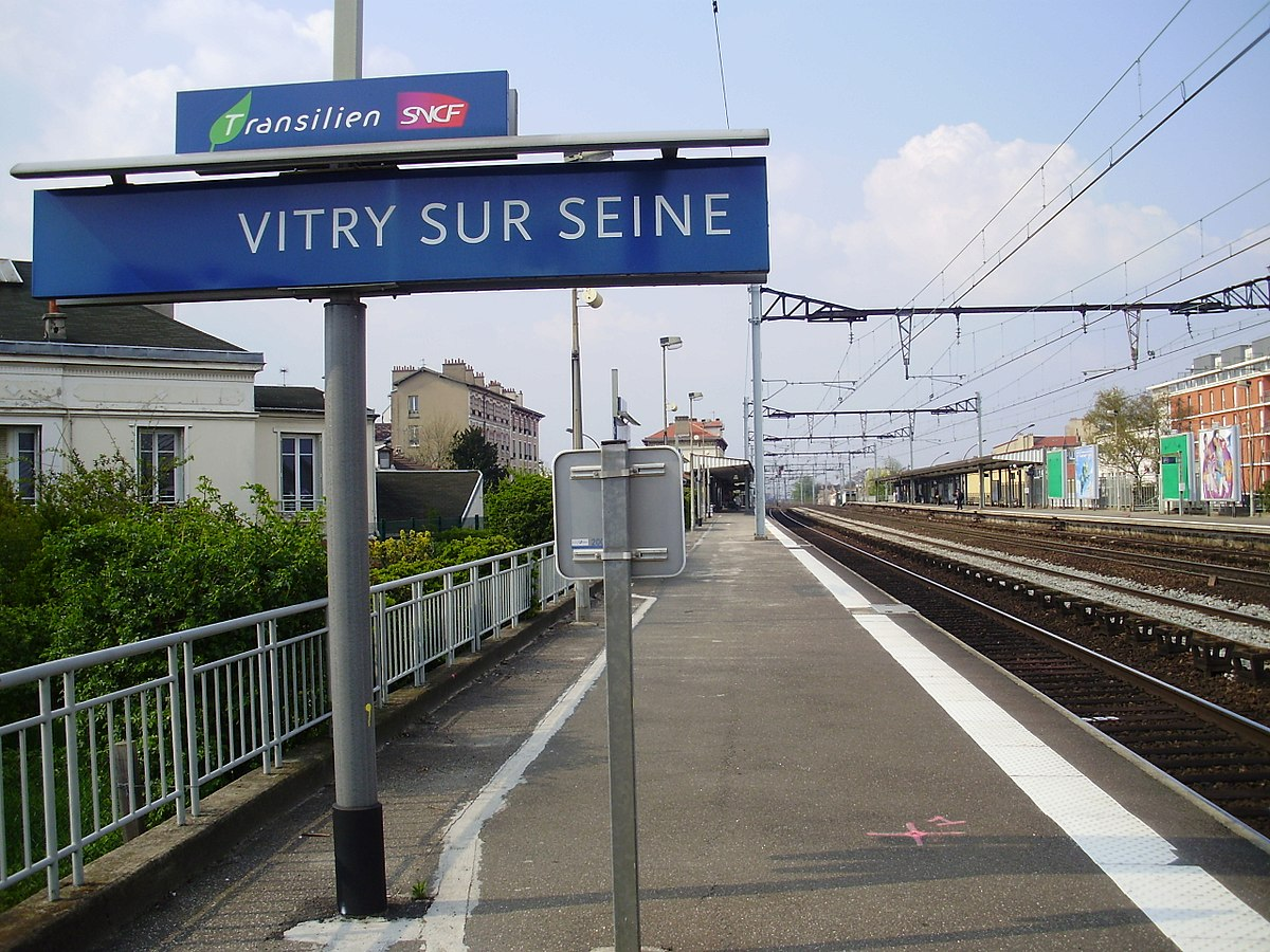 Ikea Vitry Sur Seine Station Vitry Sur Seine Wikipedia