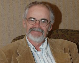 Ken Rand, author, at CONduit 17 in Salt Lake C...