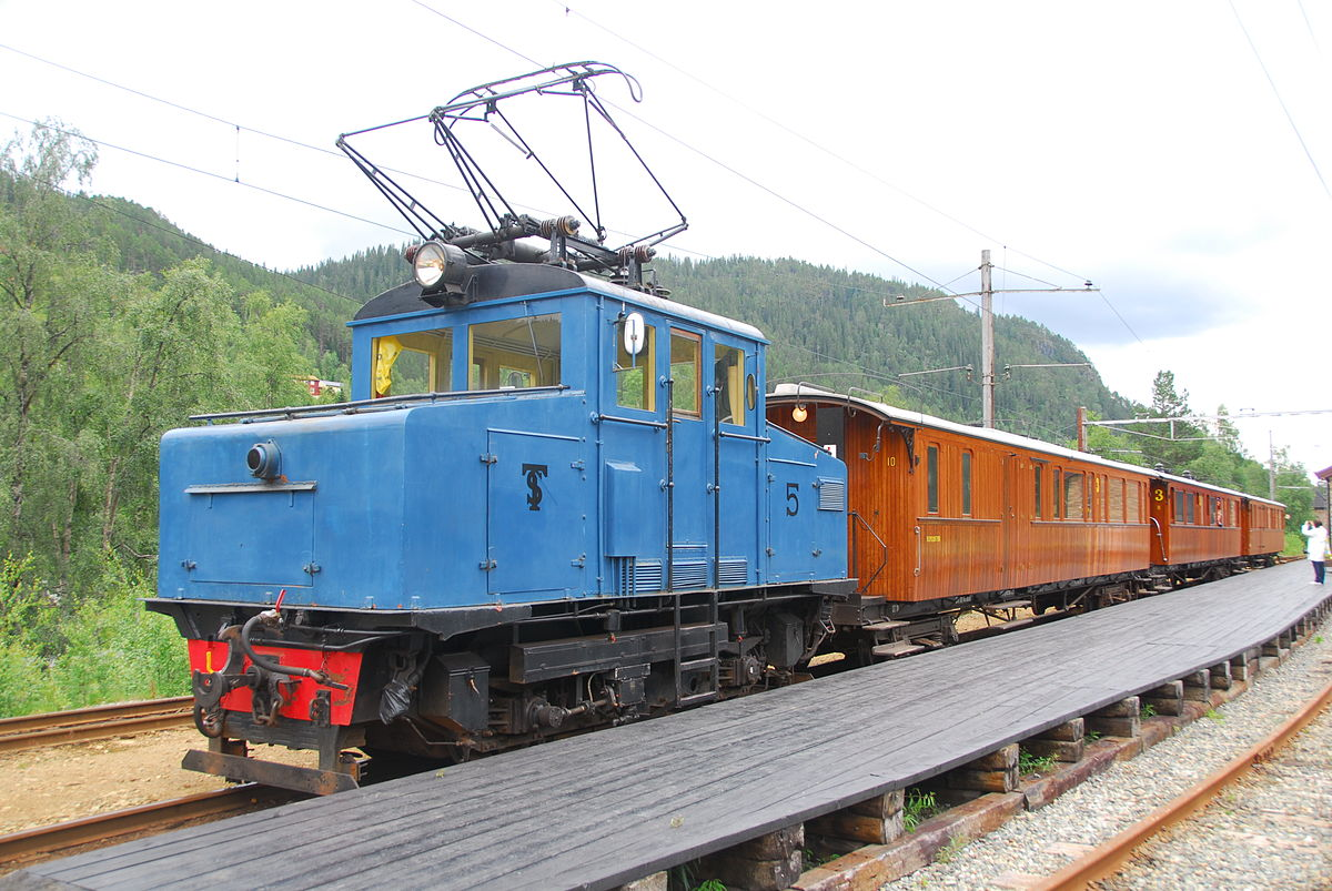 Norway Train Railway Electrification In Norway Wikipedia