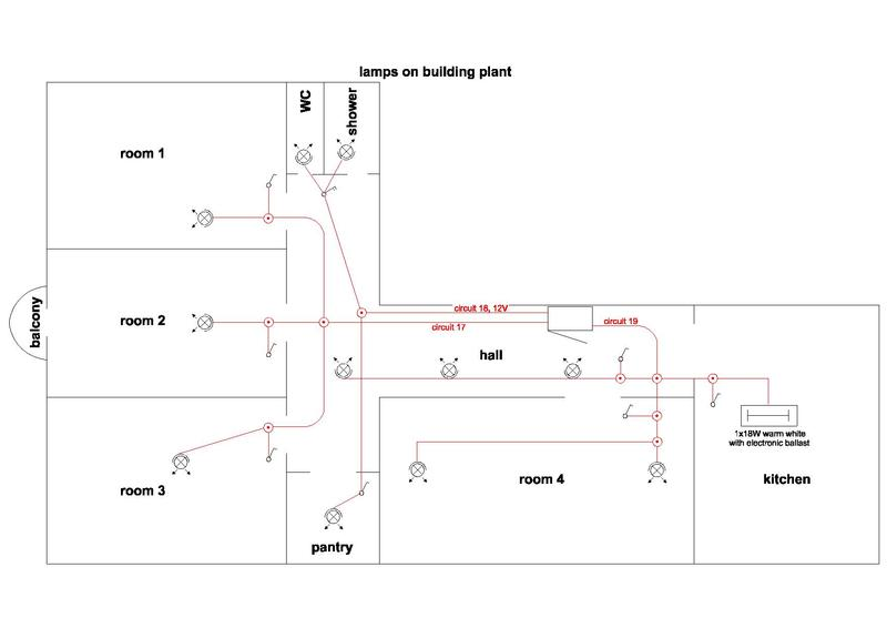 apartment wiring diagram