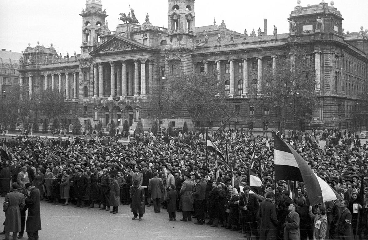 Point De Hongrie Hungarian Revolution Of 1956 - Wikimedia Commons
