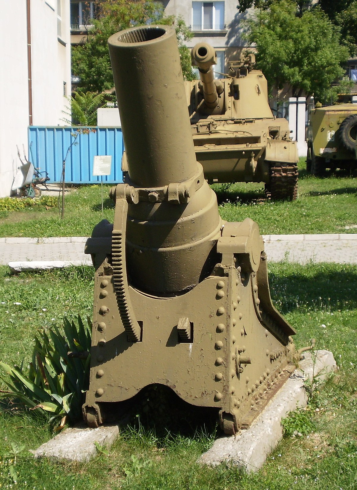 1 Duim In Mm 8-inch Mortar M1877 - Wikipedia