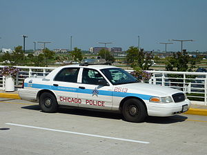 Ford Crown Victoria Police Interceptor Chicago...