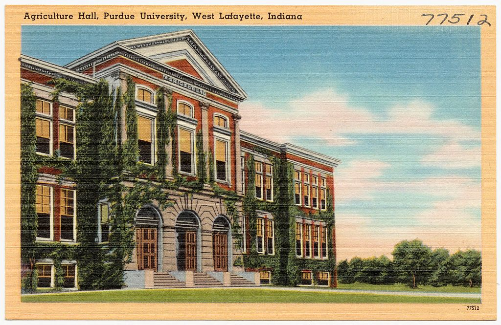 FileAgriculture Hall, Purdue University, West Lafayette, Indiana