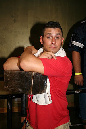 Professional wrestler Colt Cabana (real name S...