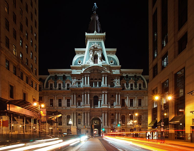 Night View Hd Wallpaper File Philadelphia City Hall At Night Jpg Wikimedia Commons