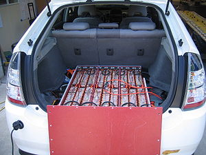Lithium-ion battery pack in CalCars' EnergyCS/...