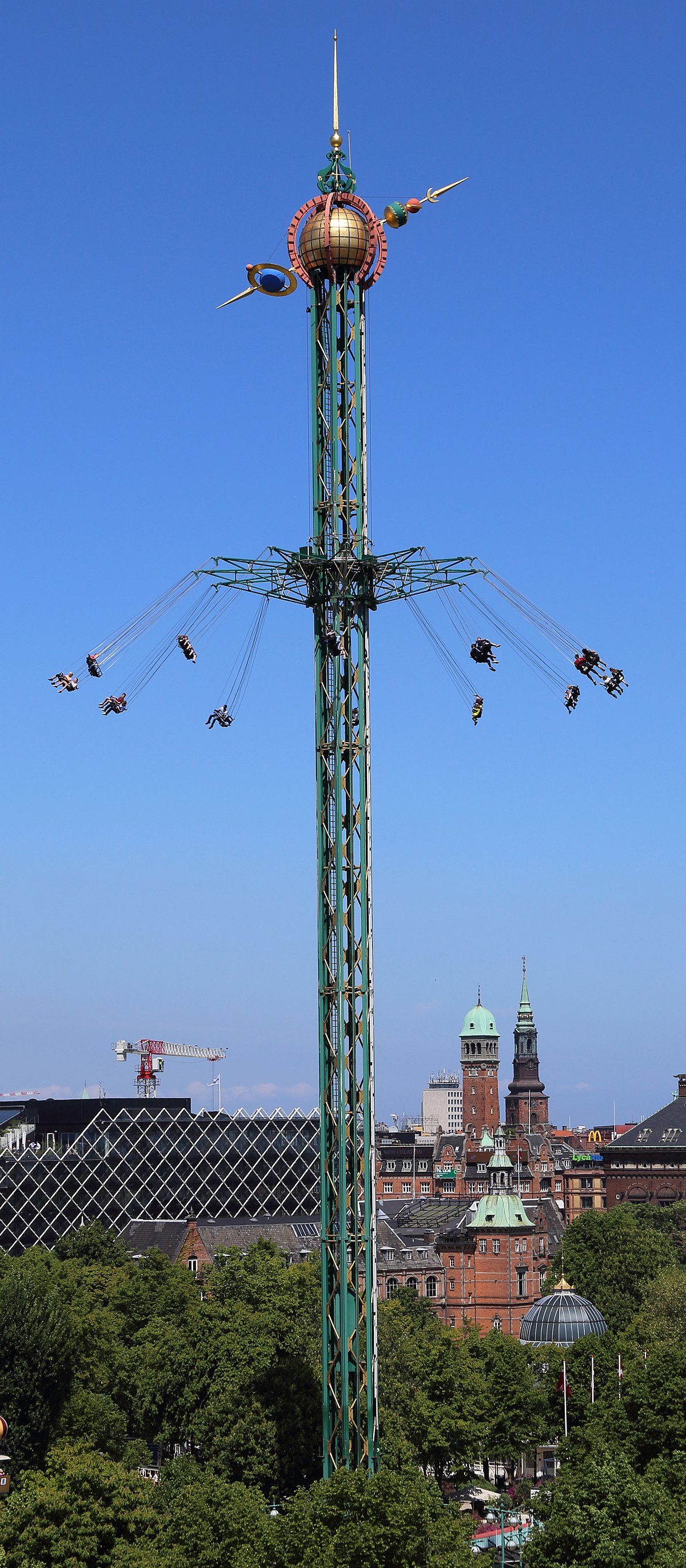 Tivoli World Amusement Park Star Flyer (tivoli Gardens) - Wikipedia