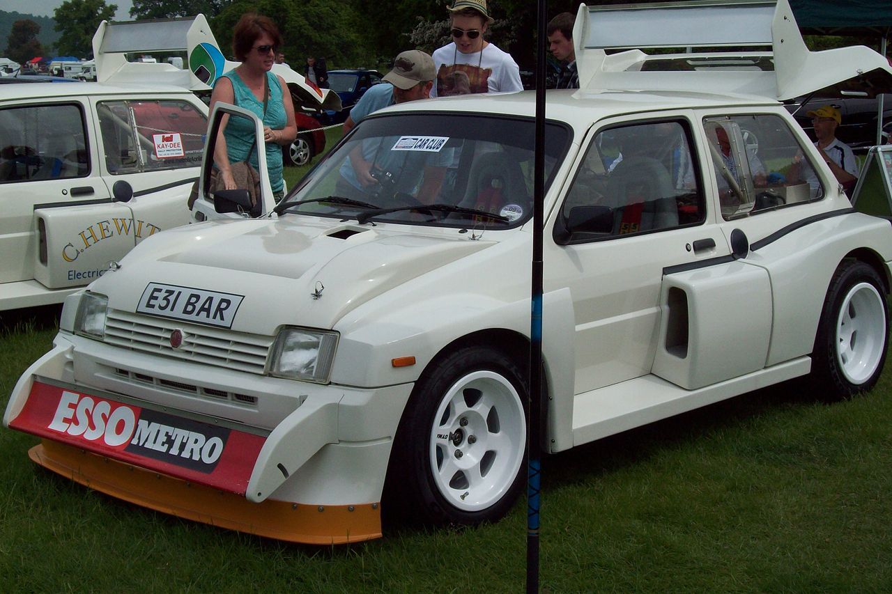 Mg 6r4 For Sale File Mg Metro 6r4 Rally Car Jpg Wikimedia Commons