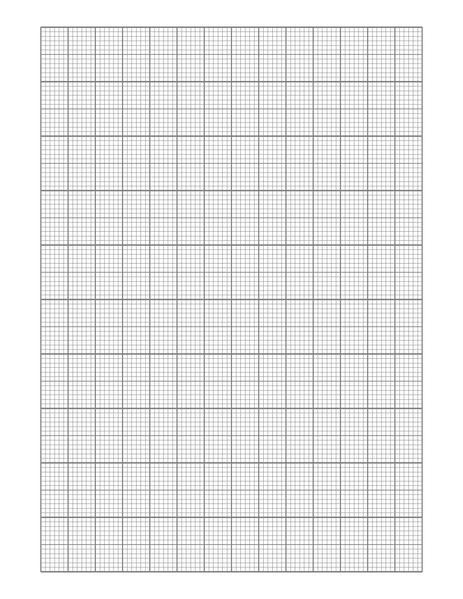 one inch graph paper
