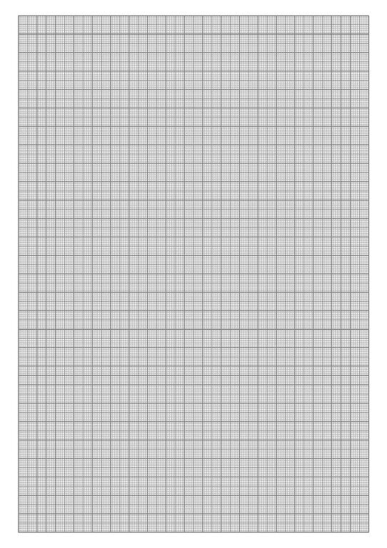 mm graph paper to print