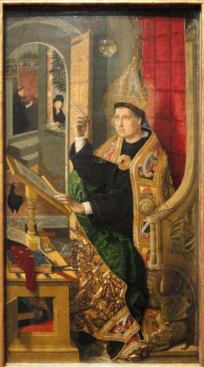 File:Saint Augustine, 1477-1485, by Bartolome Bermejo - Art Institute of Chicago - DSC09620.JPG ...