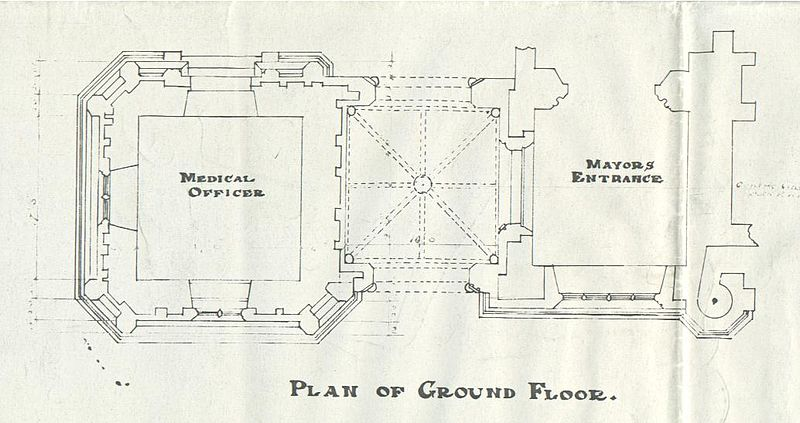 Filerochdale Town Hall Ground Floor Planjpg