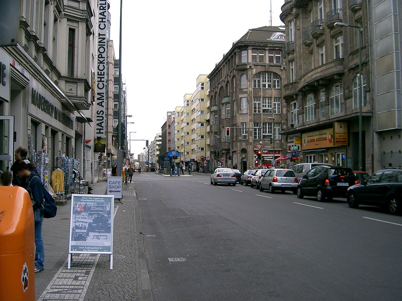 German Car Wallpaper File Streets Of Berlin Near Checkpoint Charlie 313715522