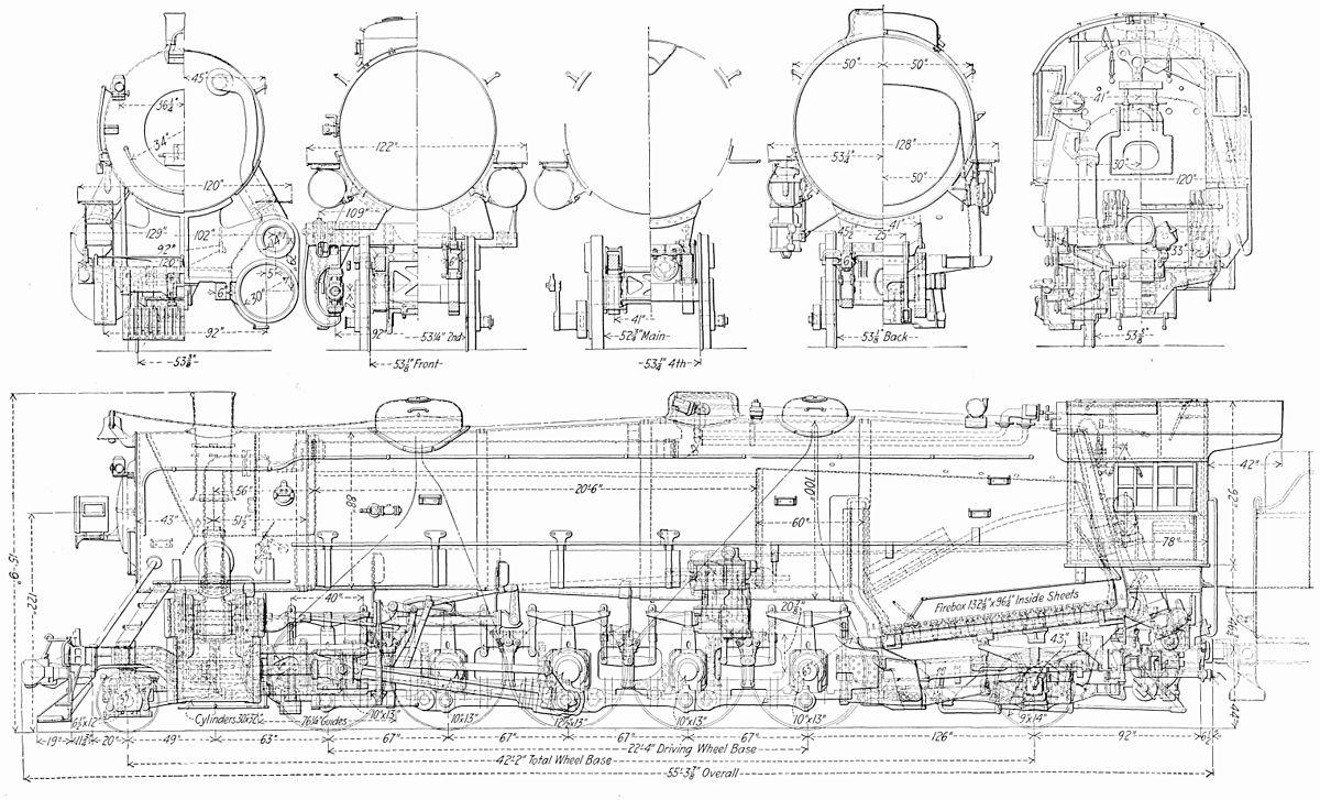 train line schematics