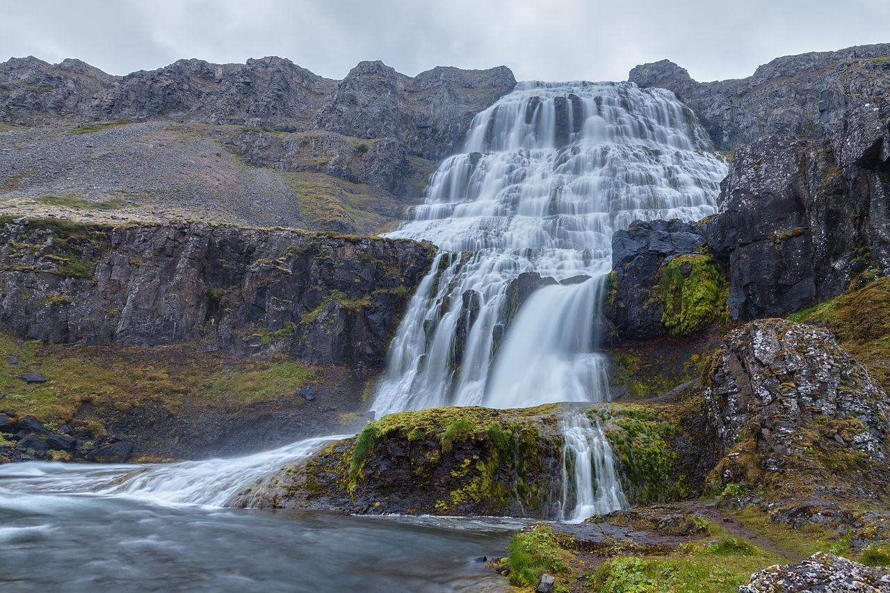 Iguazul Falls Wallpaper File Cascada Dynjandi Vestfir 240 Ir Islandia 2014 08 14