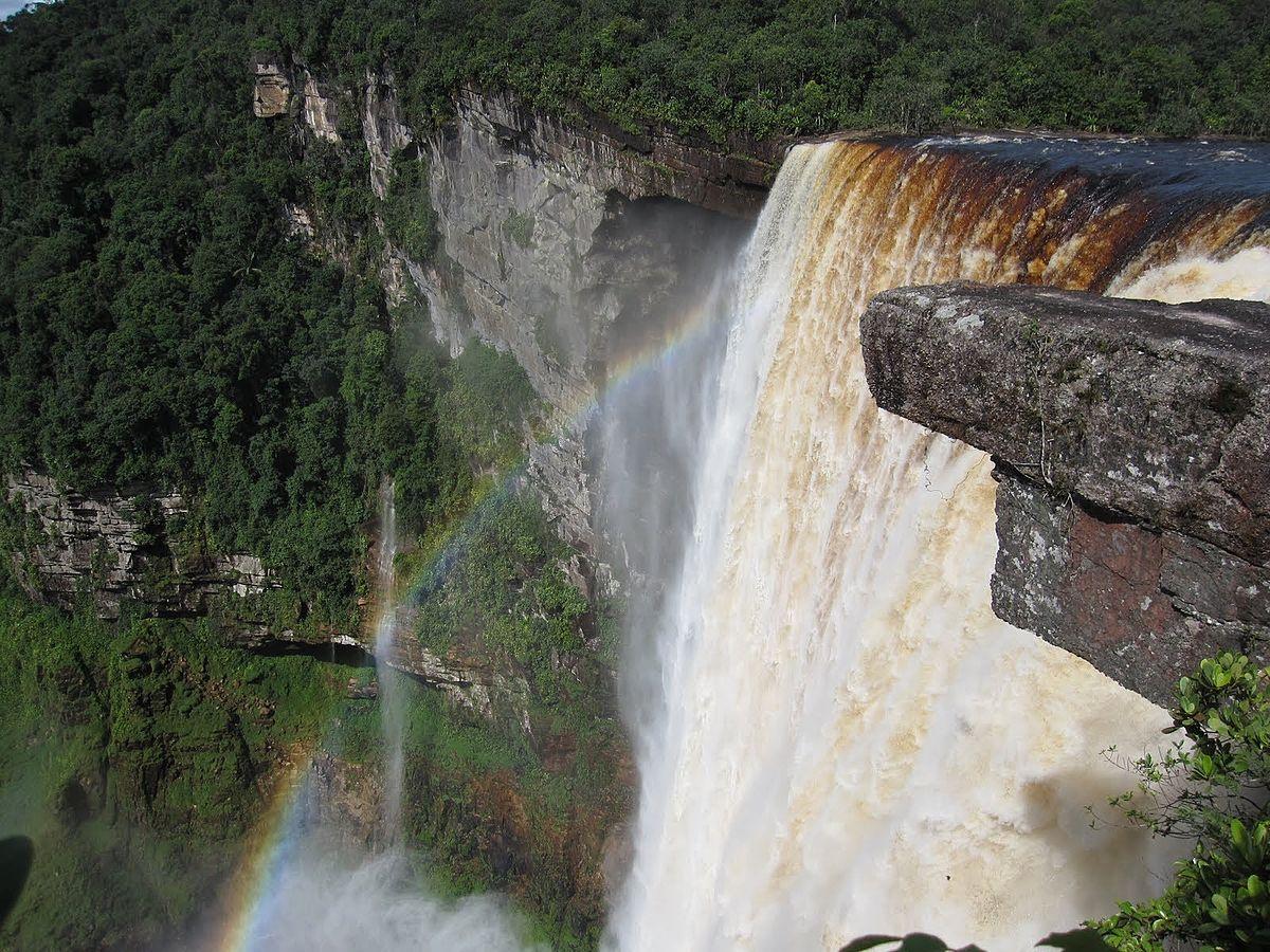 Guyana Wallpaper Kaieteur Falls Guyana Wikiviajes