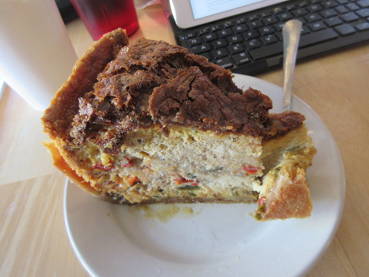 Keyboard Kuchen File Bywater Bakery New Orleans Dec 2018 Quiche Jpg Wikimedia