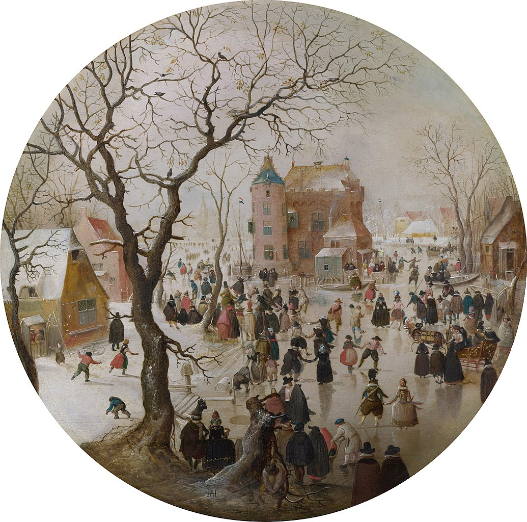 De Stomme Van Kampen File Hendrick Averkamp A Winter Scene With Skaters Near A Castle