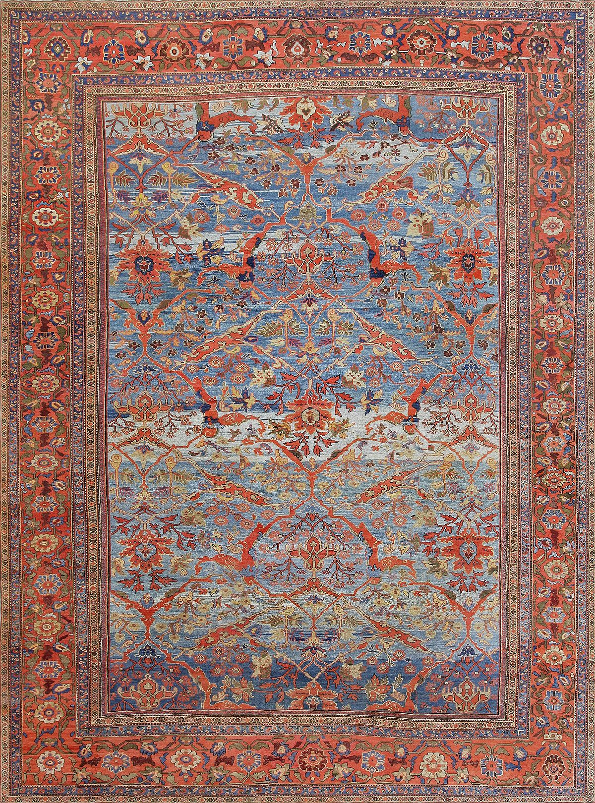 Rugs And Carpets Sultanabad Rugs And Carpets Wikipedia