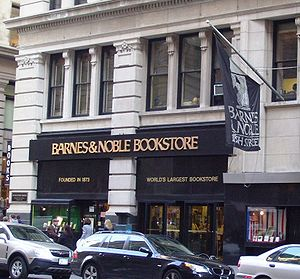 Barnes & Noble's flagship store at 105 Fifth A...
