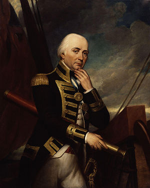 Admiral Collingwood, Rotheram's commander at T...