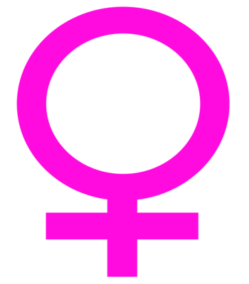English: Female symbol