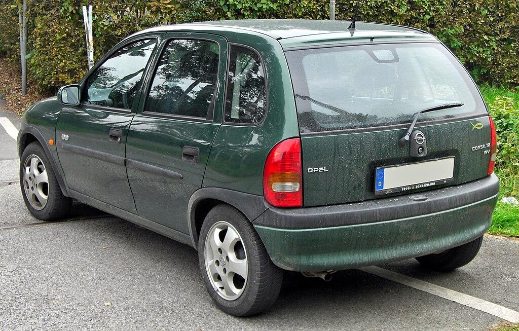FileOpel Corsa B 12 16V Edition 2000 5-Türer Facelift rearJPG