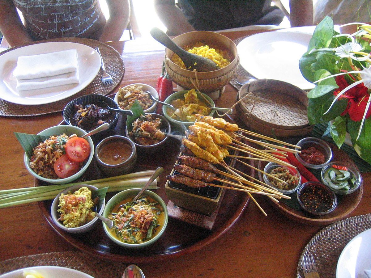Cuisine Food In Balinese Cuisine Wikipedia