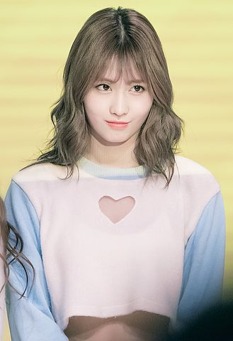 Korean Girl Wallpaper File Momo Hirai At Twice Sudden Attack Fan Meeting On
