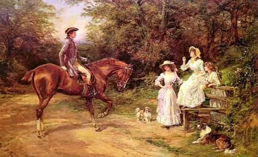 Hardy Heywood - A Meeting By The Stile