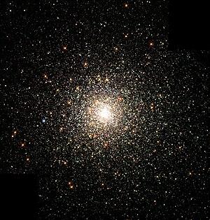 The globular cluster M80. Stars in globular cl...