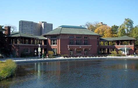 English: Cafe Brauer also called South Pond Re...