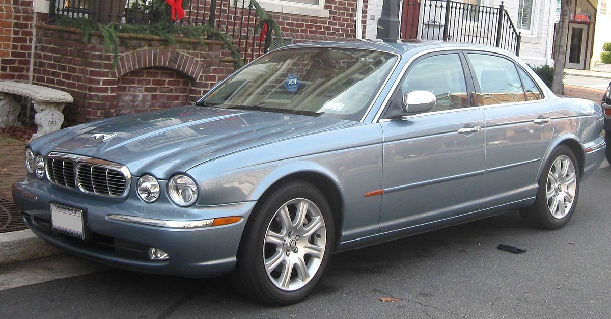 Jaguar XJ (X350) - Wikipedia