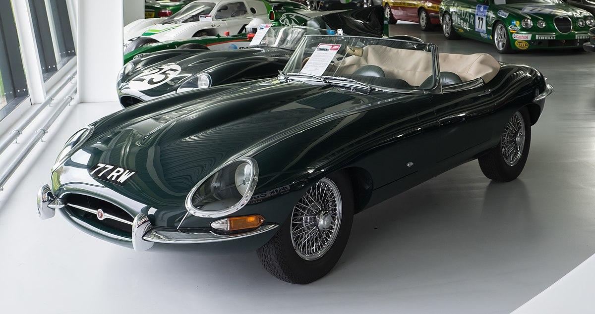 Jaguar E-Type - Wikipedia