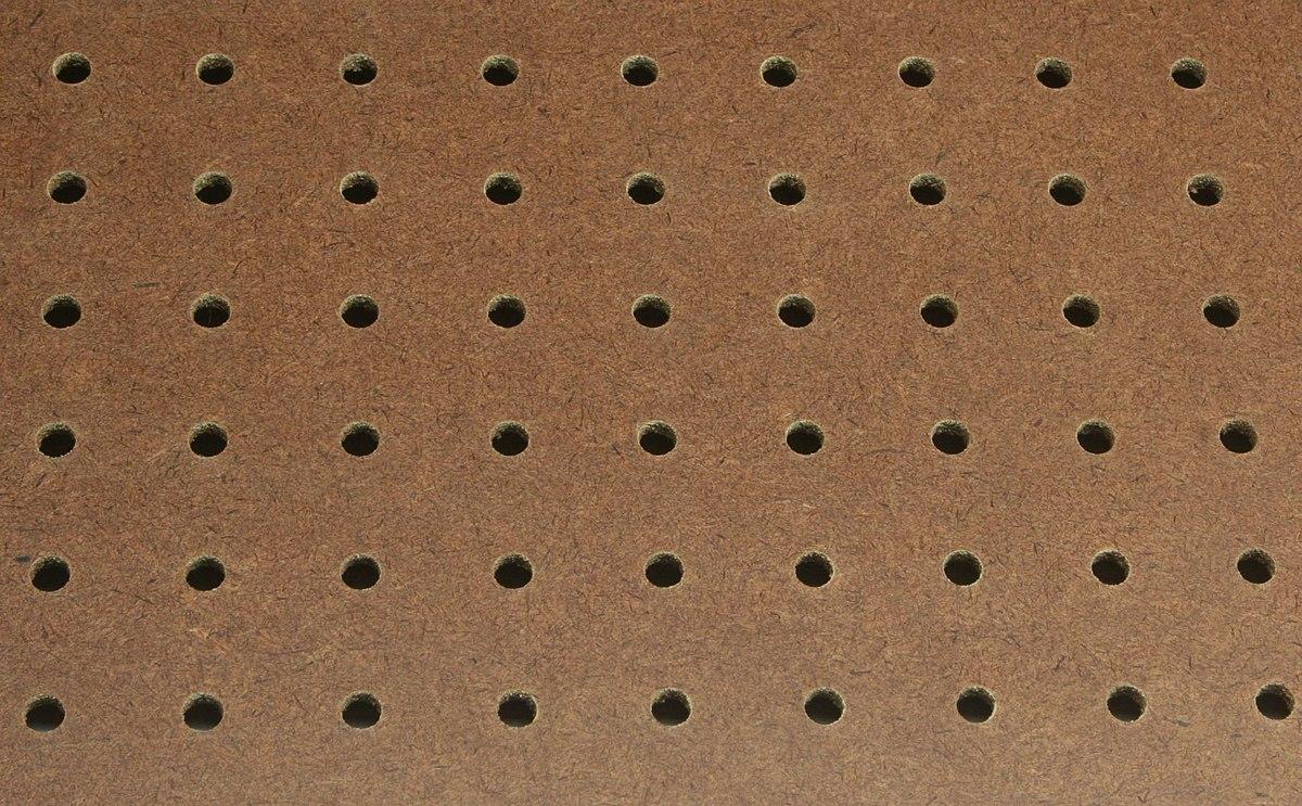 Perforated Hardboard Wikipedia
