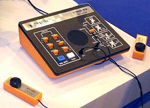 English: First generation console: Binatone TV...